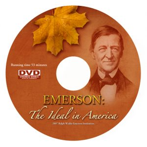 DVD label - Emerson: The Ideal In America